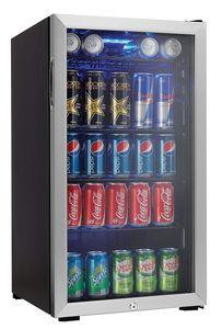 Danby 120 Can Beverage Center, Stainless Steel with Lock