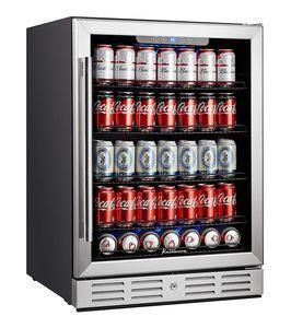 Kalamera Beverage Fridge for Beer Soda and Wine