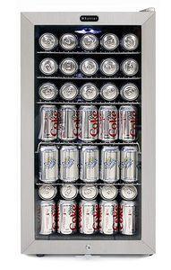 Whynter BR128WS Stainless Steel Beverage Refrigerator