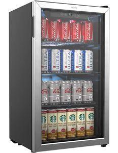 hOmeLabs Beverage Refrigerator and Cooler