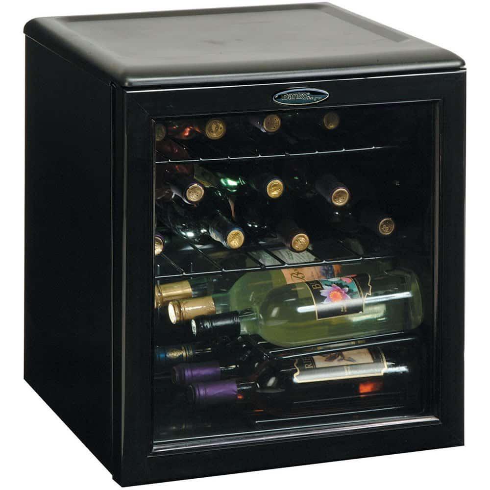 Danby DWC172BL 17-Bottle Countertop Wine Cooler
