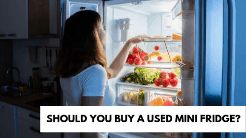 USED Mini Fridge Guide: Should You Buy It? But From Where?